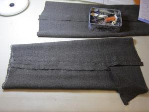 wool twill sleeve linings